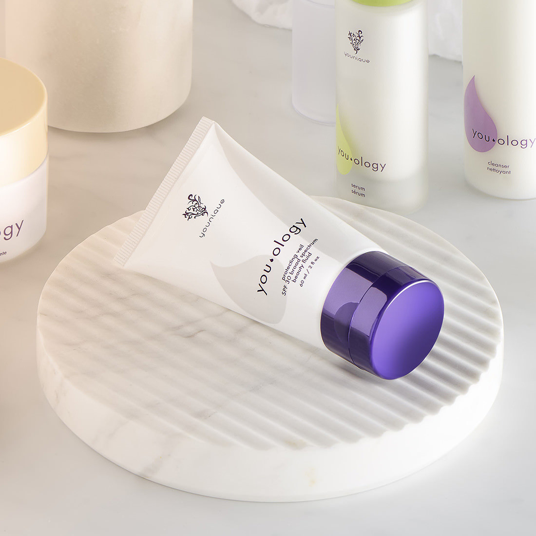 YOUOLOGY protecting veil SPF 30 broad spectrum beauty fluid